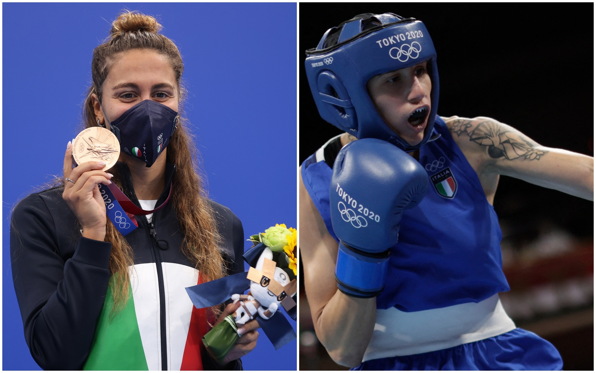 Tokyo altre 4 medaglie azzurre bronzo Quadarella Testa e Pizzolato argento per Nespoli