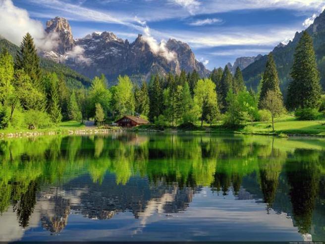 In Val Canali un borgo paradiso tra le Dolomiti di Buzzati