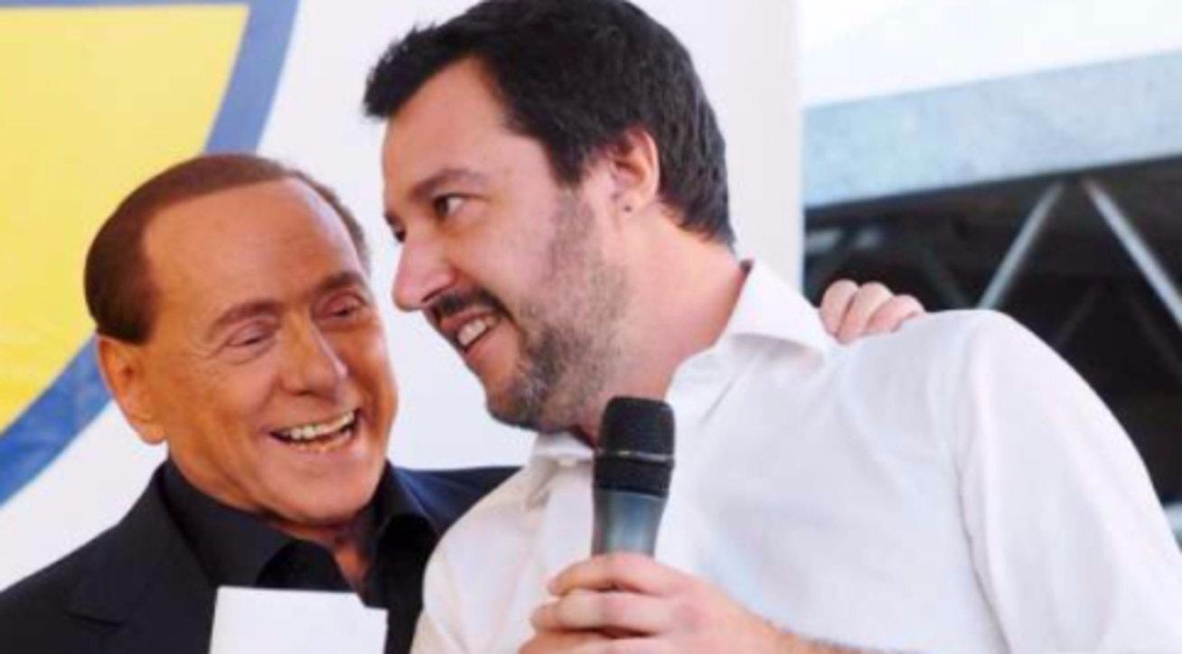 Salvini io e Berlusconi faremo la federazione del centrodestra