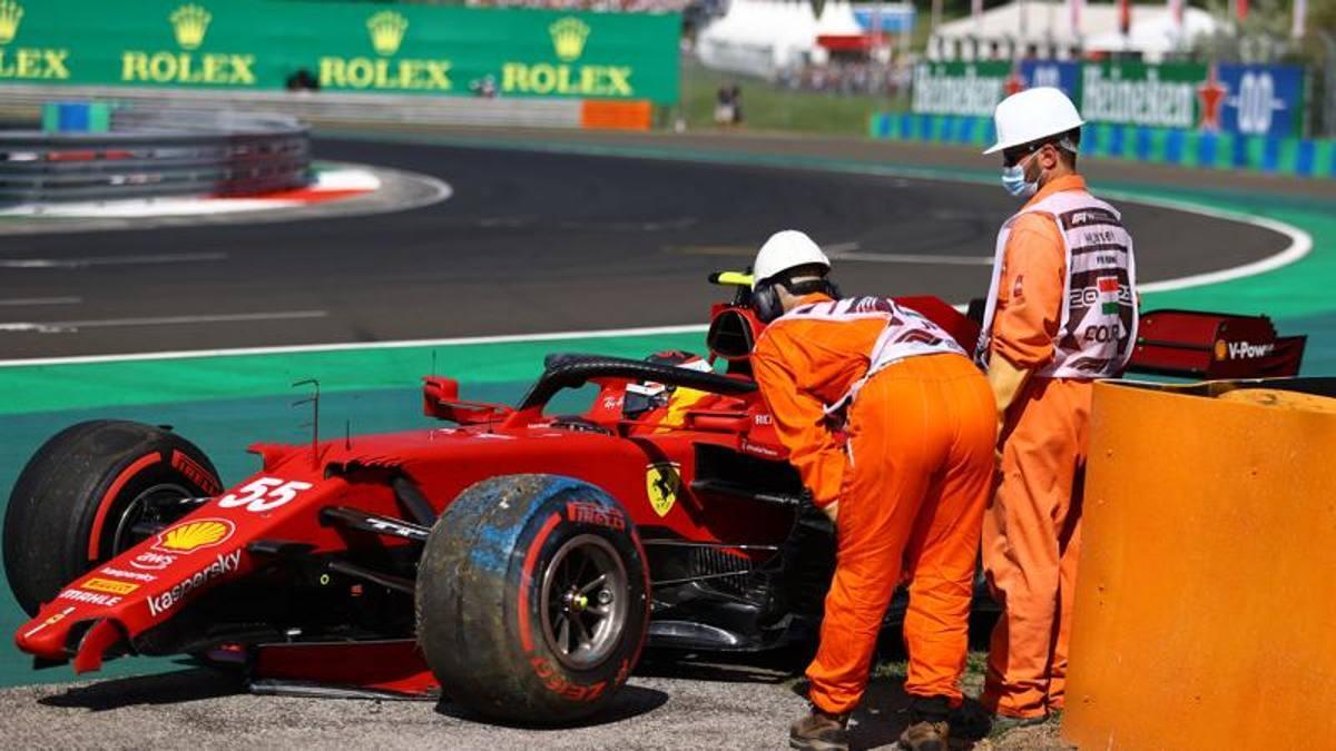 Sainz Mi scuso con il team per lincidente Leclerc Il passo gara buono