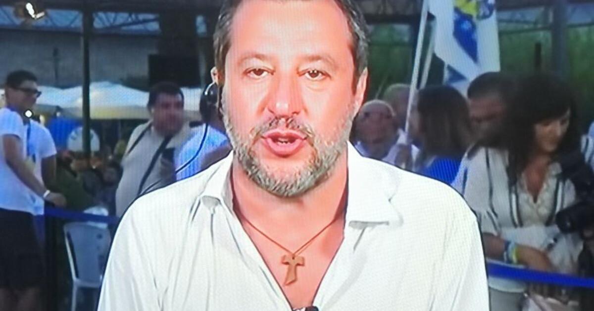Matteo Salvini sbotta ca**ate su Giorgetti Vaccino e green pass alta tensione con Concita De Gregorio
