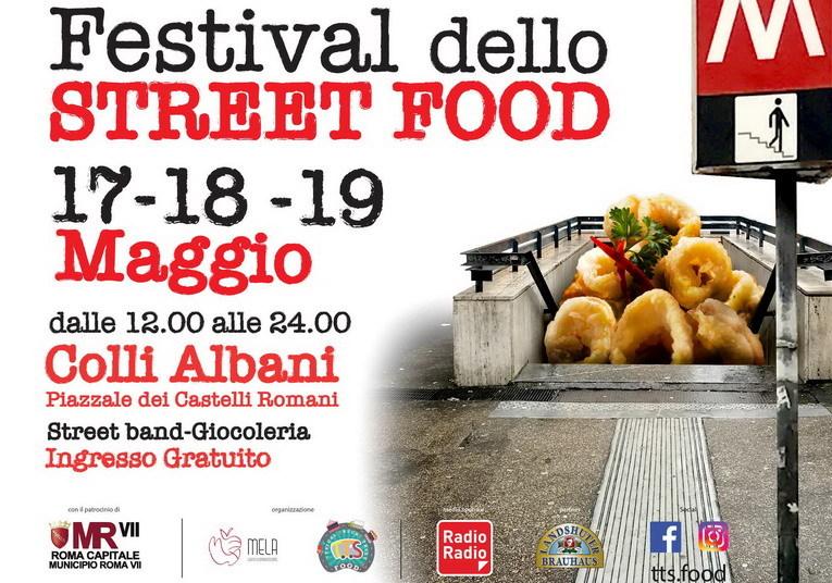 Colli Albani, arriva il Festival dello Street Food dal 17 AL 19 maggio