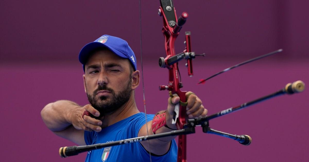 Tokyo 2021 Nespoli medaglia dargento nel tiro con larco Sollevamento pesi bronzo per Nino Pizzolato