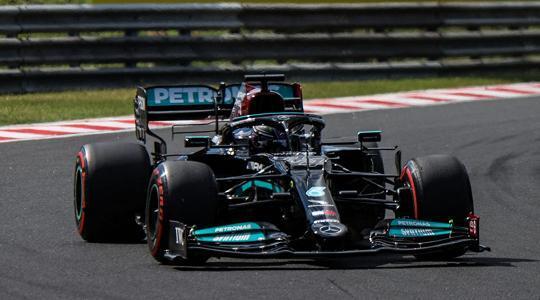 Gp di Ungheria Hamilton in pole Verstappen terzo
