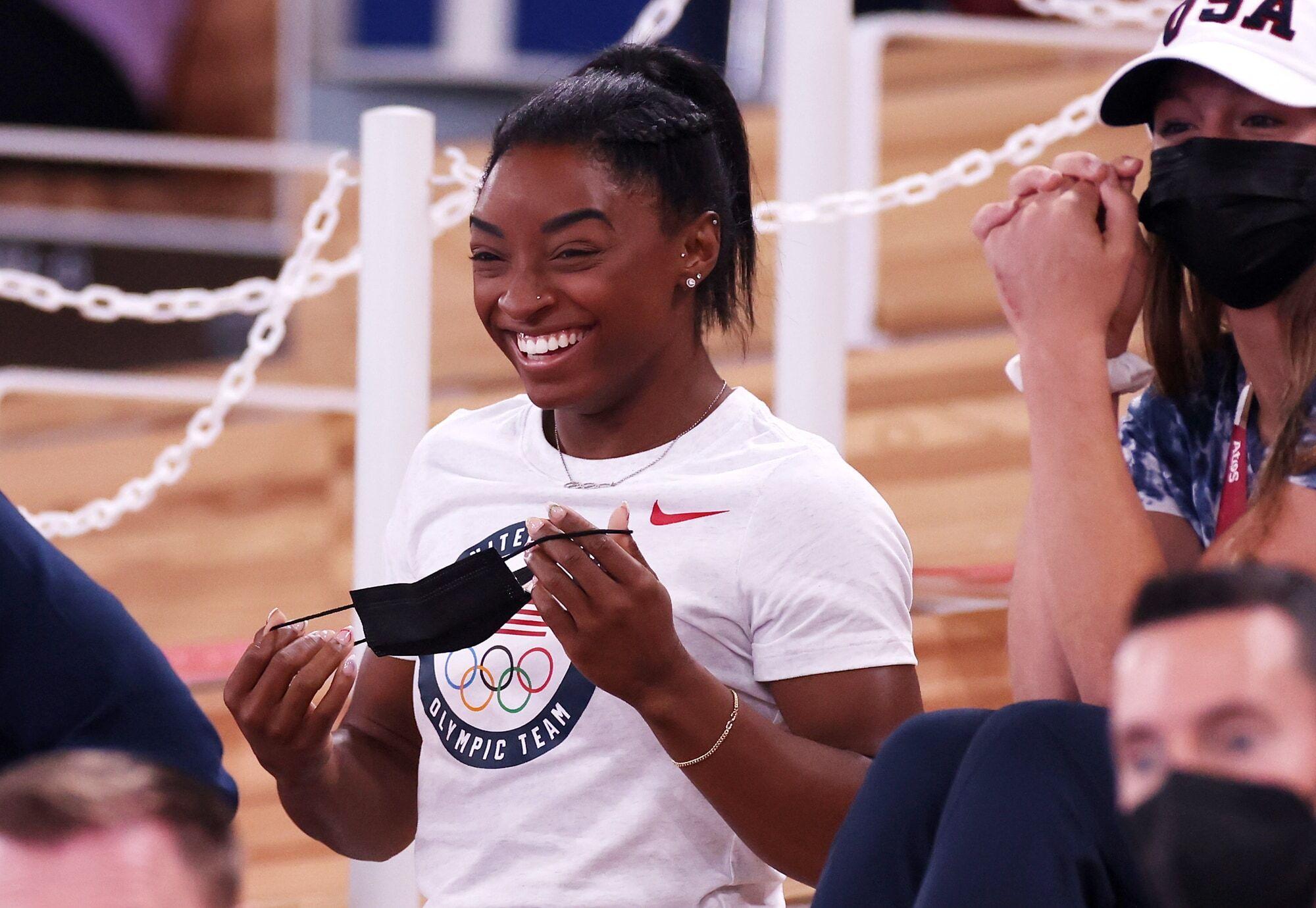 Olimpiadi torna Simone Biles gareggerà nella finale alla trave