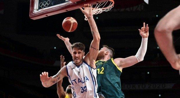 Diretta Italia - Nigeria di basket alle Olimpiadi 40 - 39 fine secondo quarto