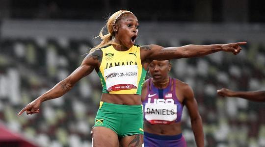 En plein Jamaica nei 100 donne oro alla Thompson