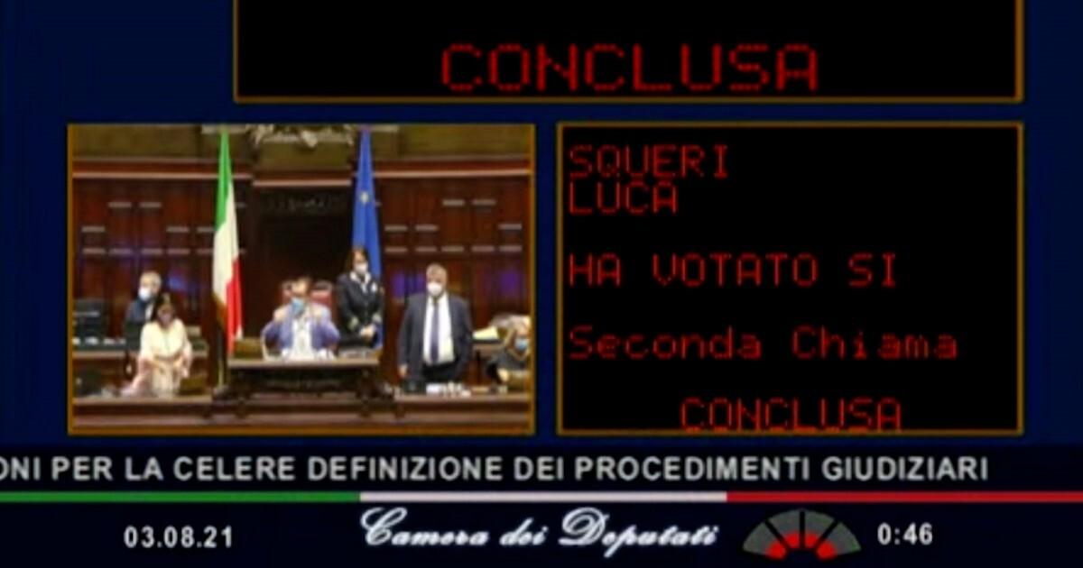 Riforma Cartabia doppia fiducia alla Camera 458 voti favorevoli 46 no - il