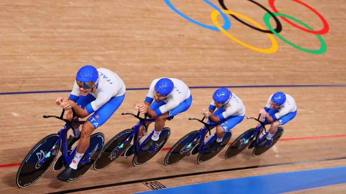 Inseguimento a squadre due record italiani e domani caccia alle medaglie