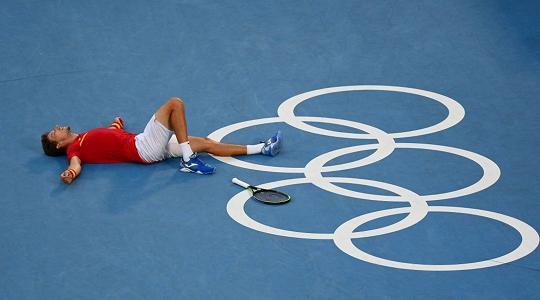 Djokovic giù dal podio