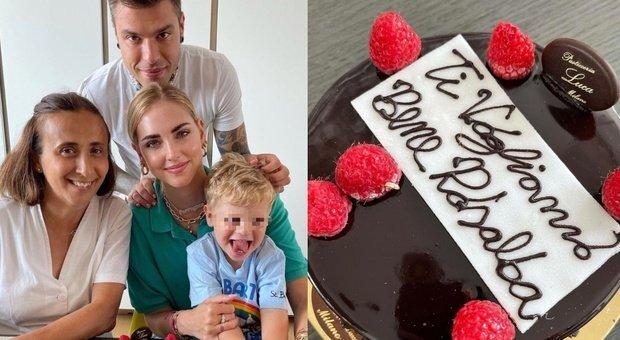 Chiara Ferragni il compleanno di tata Rosalba con Fedez e Leone Ma un dettaglio fa infuriare i fan Com possibile?