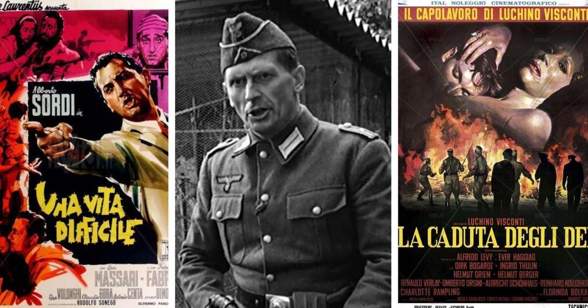 A Cinecittà nascondevano i nazisti facendoli recitare da nazisti