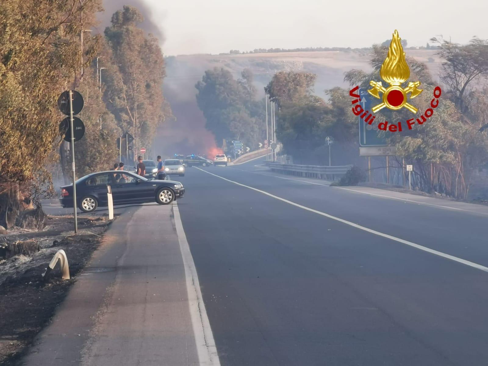 Una provincia sotto la morsa degli incendi