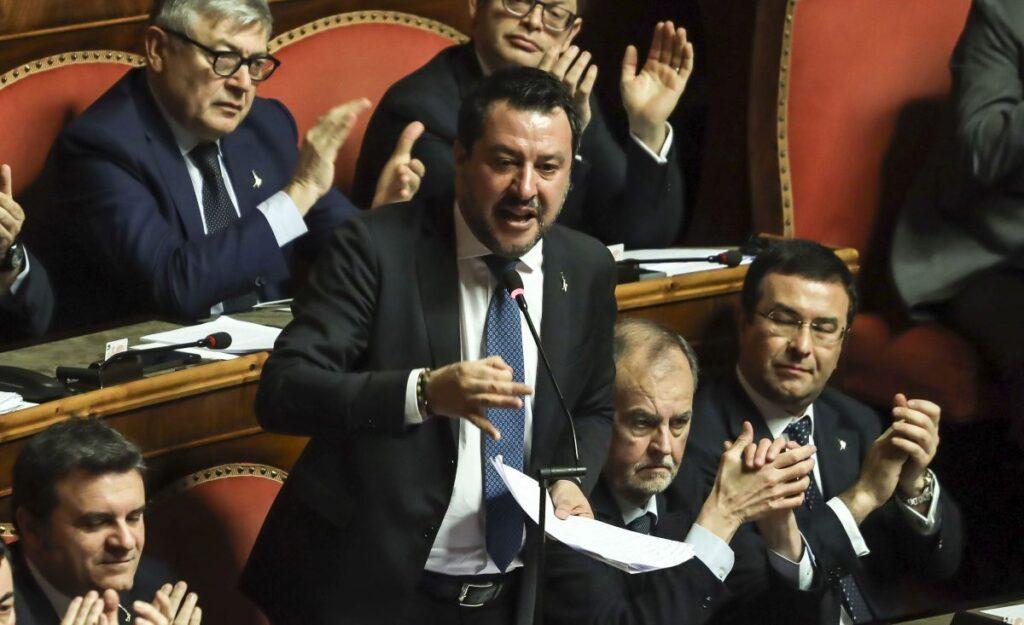 Coronavirus, Salvini al Governo