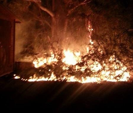 Siracusa, dava fuoco alle sterpaglie vicino alla pista ciclabile: denunciato