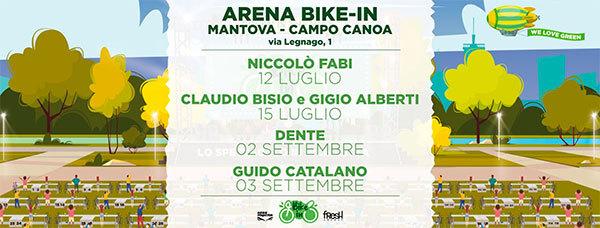 Bike-In Arena Mantova: spettacoli e concerti estate 2020