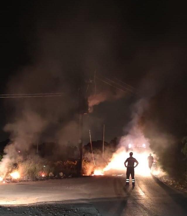 Marsala blackout al Signorino per un incendio