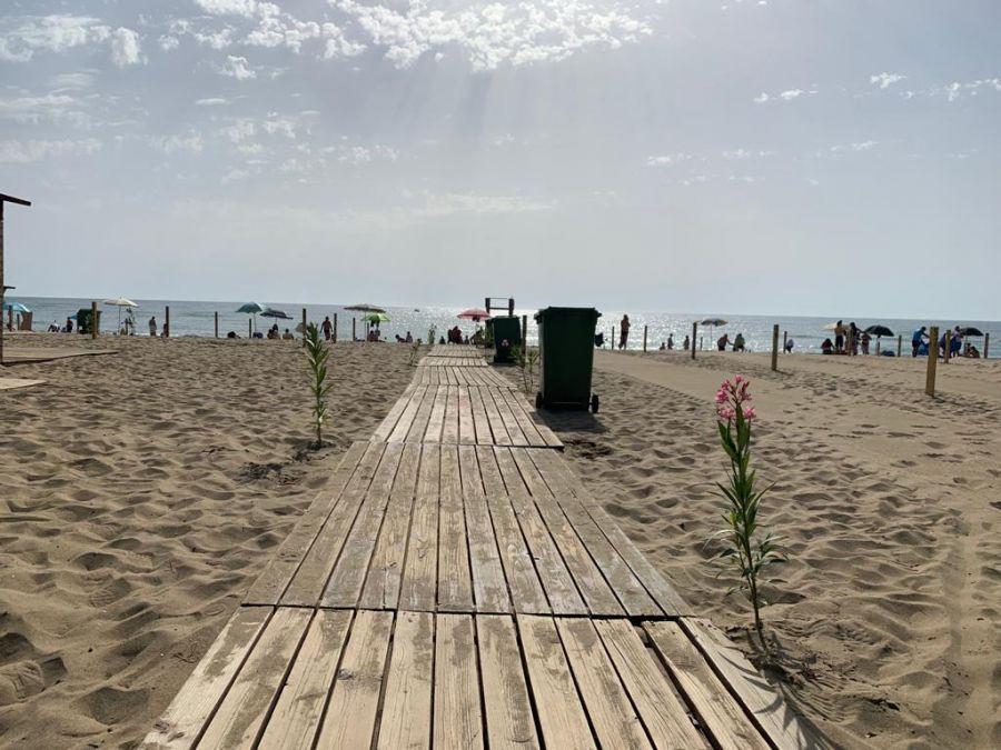 Mare, aperta al pubblico stamattina la spiaggia libera n.3