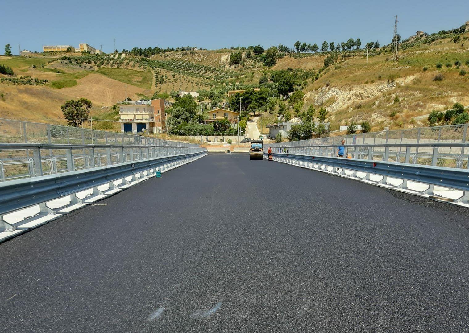 Completati i lavori del nuovo viadotto Petrusa, apertura il 13 luglio