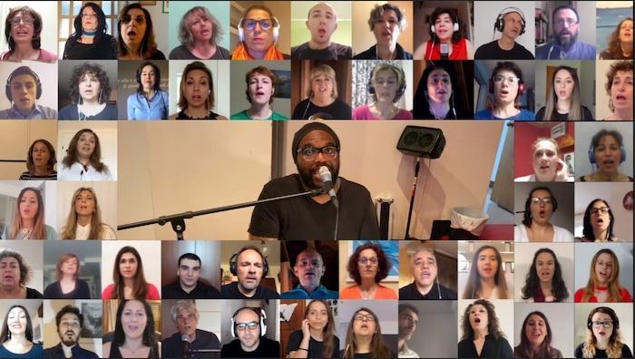 L'Italia si unisce,517 coristi da tutta Italia cantano Oh Happy Day per la fine del lockdown