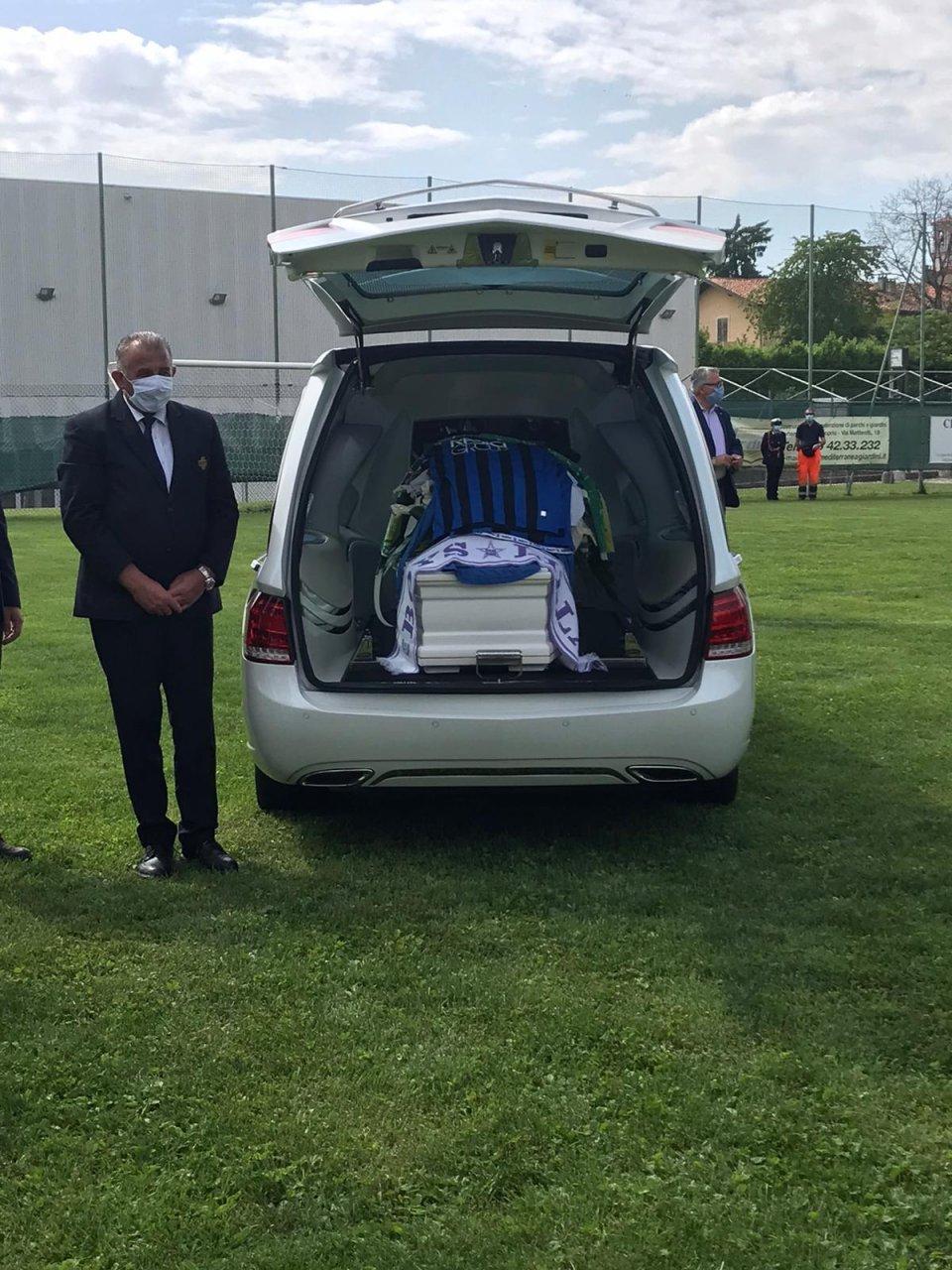 Il commovente discorso della sorella di Andrea Rinaldi pronunciato ai funerali dell'ex atalantino