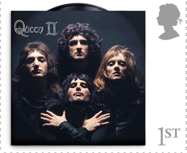 I Queen arrivano sui francobolli inglesi