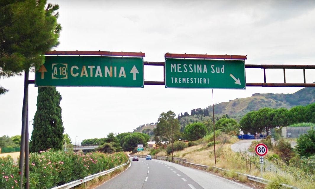 Messina. Da venerdì 29 maggio svincolo di Tremestieri chiuso per lavori
