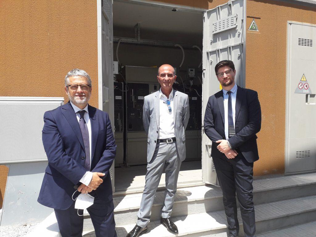 Messina: attivato a Milazzo innovativo centro di distribuzione dell'energia elettrica di E-Distribuzione