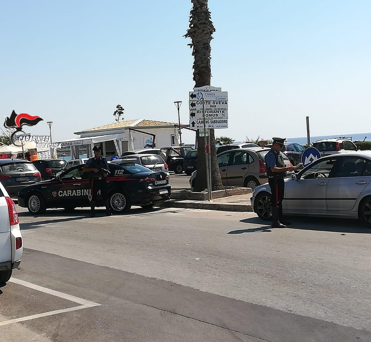 Sanzionati 7 motociclisti sulla strada Statale 124: era diretti a Buccheri