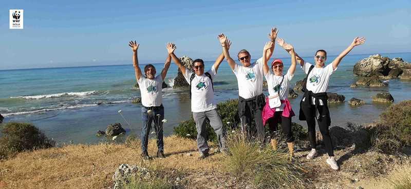 Licata, parte l'opera di monitoraggio della costa del WWF