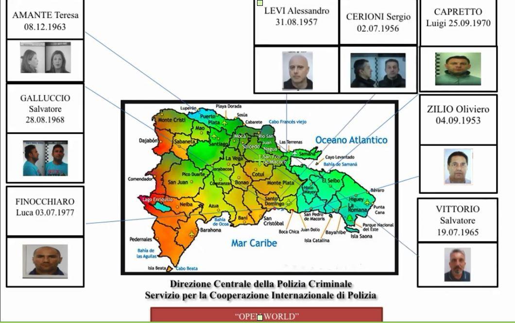 Blitz Interpol a Santo Domingo, catturati e riportati in Italia 8 latitanti: c'è anche una siciliana, ft e vd,