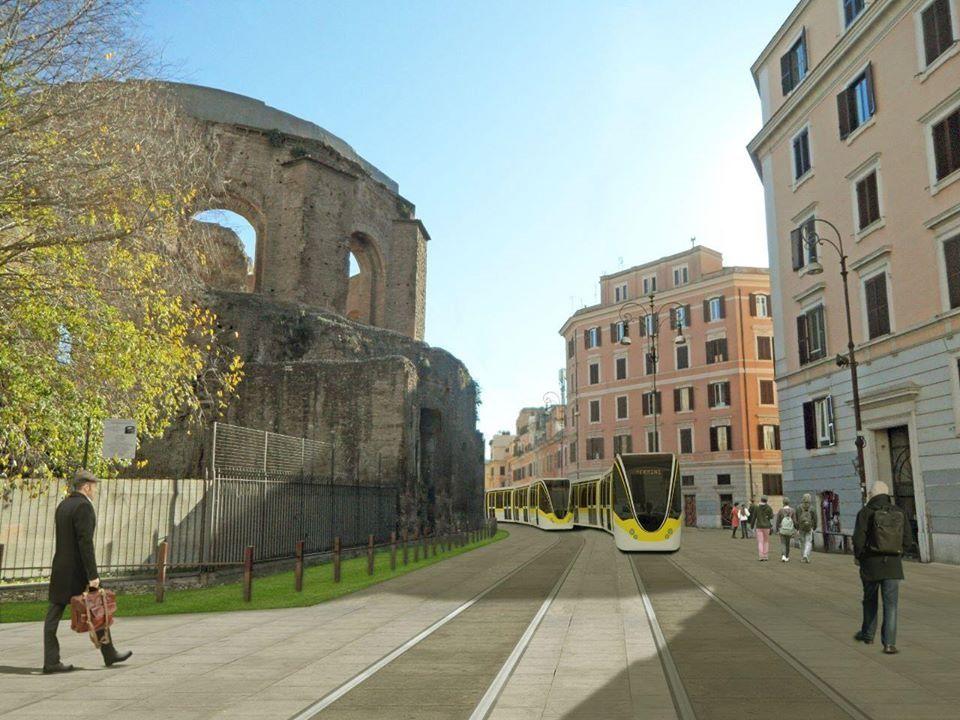 ROMA - Al via il finanziamento per la tramvia di Roma