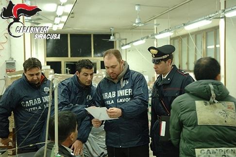 Controlli dei Carabinieri nei cantieri edili, aziende agricole, bar e ristoranti: 6 attività sospese per lavoro nero