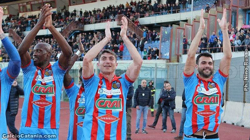 Catania: 24 convocati in vista della gara con la Virtus Francavilla