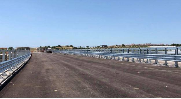 A luglio verrà aperto lo svincolo di Rosolini dell'autostrada Siracusa-Gela