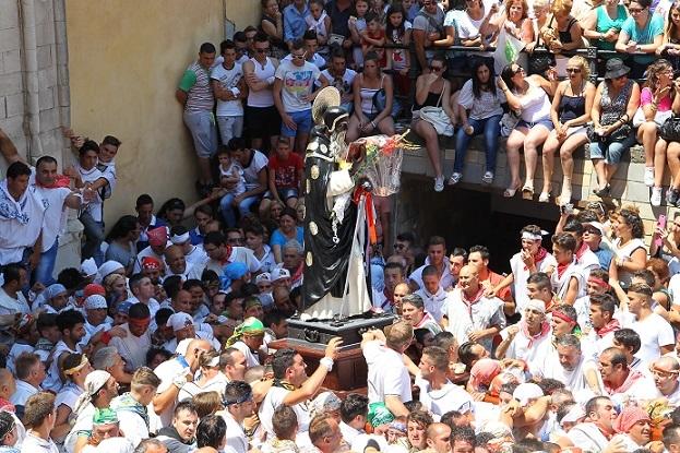 Agrigento, oggi è la festa di San Calogero: il santo per la prima volta