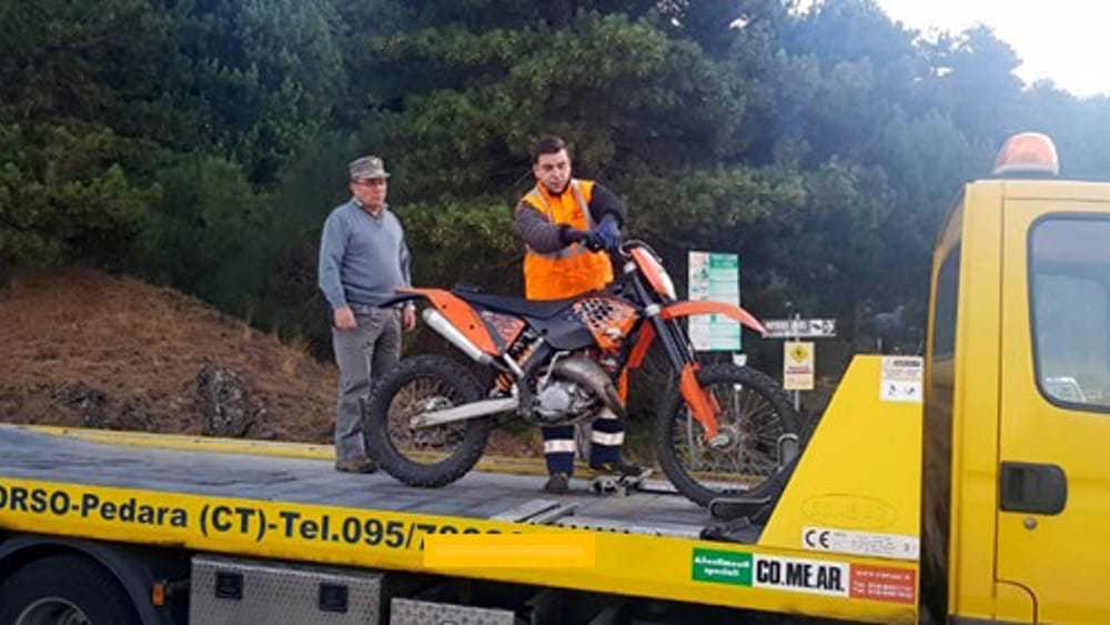 Moto in aree protette del Parco dell'Etna, Legambiente chiede interventi
