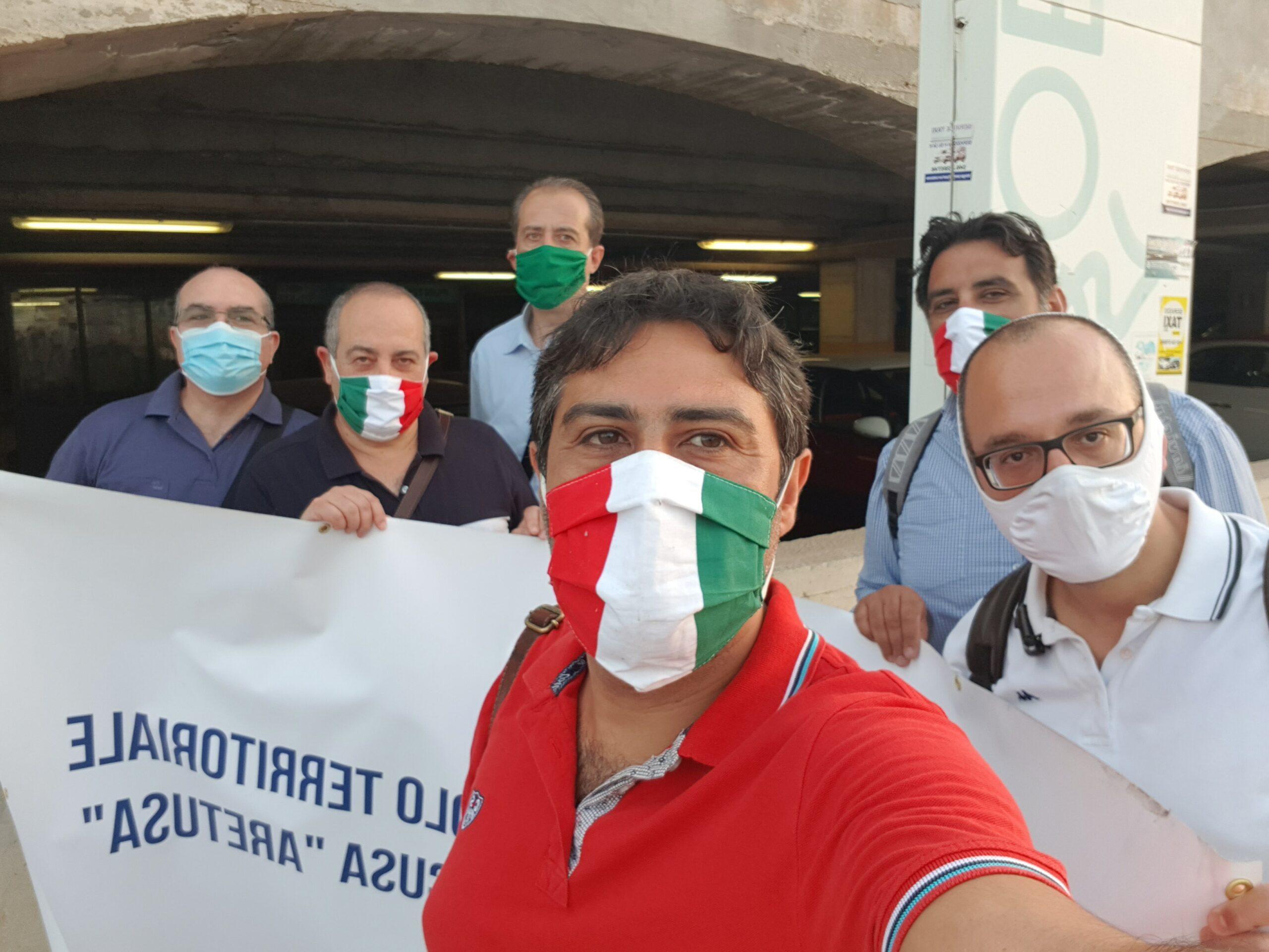 Siracusa. Tour di Fratelli d'Italia al parcheggio Talete: 'brutto biglietto da visita per i turisti'