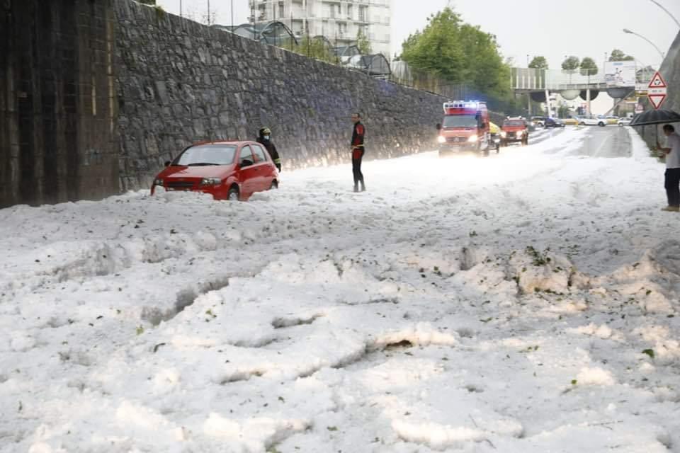 Coldiretti Bergamo fa il primo bilancio dei danni causati dalla grandinata del 2 giugno