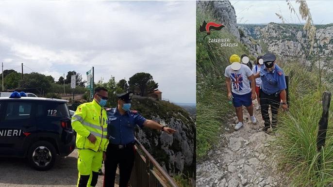 Avola, giovane accusa un malore ai laghetti. Soccorsi dai carbinieri e dal 118, impiegato elicottero dei vigili del fuoco