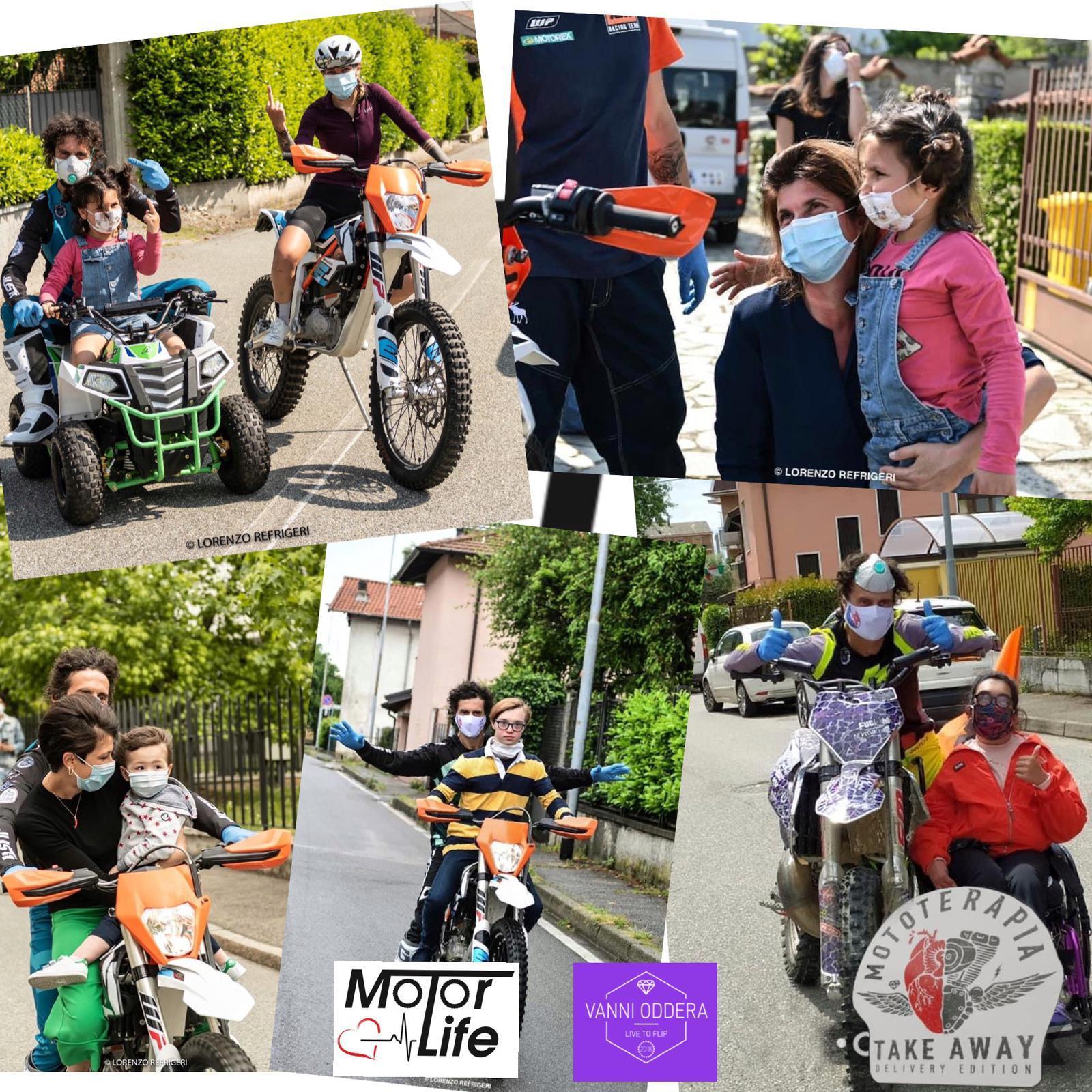 Agrigento, il campione Vanni Oddera arriva in città con la 'mototerapia take away'