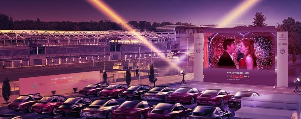 Cinema d'estate, un drive-in all'autodromo di Monza: biglietto a 10 euro, e solidale,