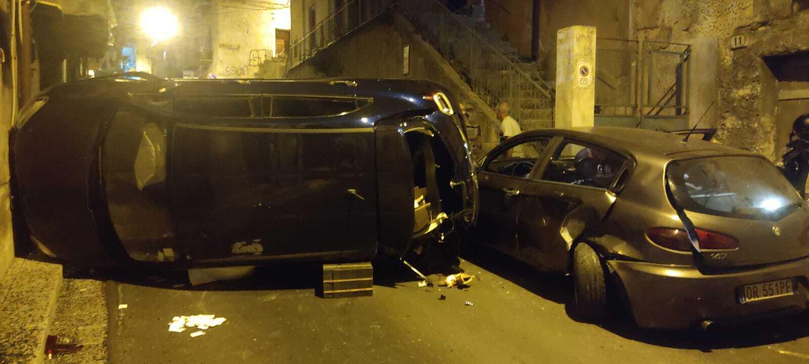 Terribile incidente a Monreale 6 feriti tra cui due bambini