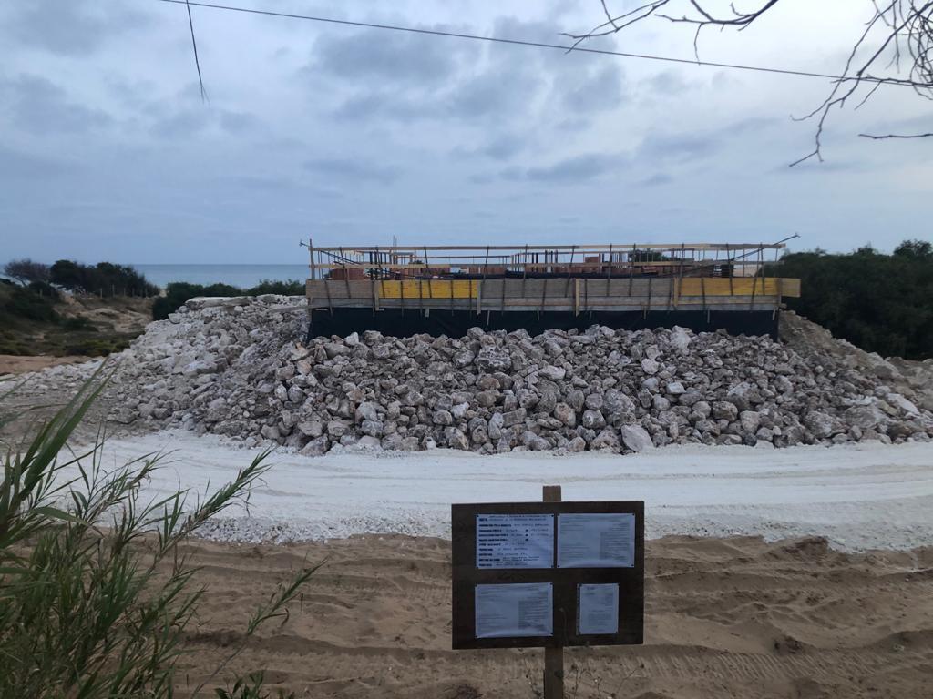 Costruzione sulla spiaggia di Sampieri, interviene Legambiente: 'Chiesti chiarimenti al Comune di Scicli e alla Soprintendenza'