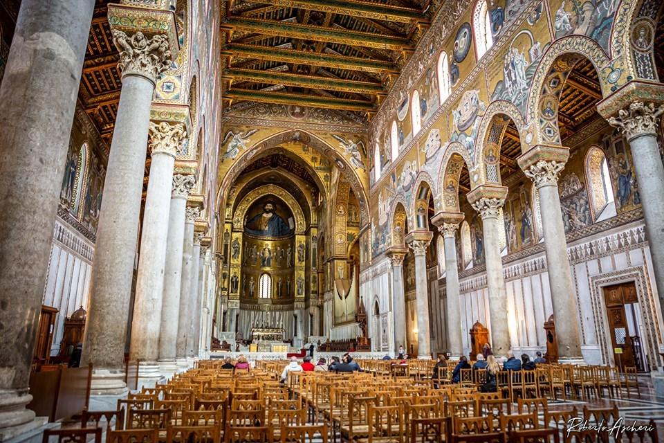 Duomo di Monreale, percorsi di entrata e di uscita differenziati, comunioni e cresime rinviate, pulizia del pavimento dopo ogni messa