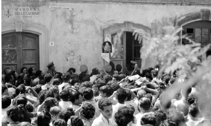 67esimo Anniversario della Lacrimazione di Maria a Siracusa