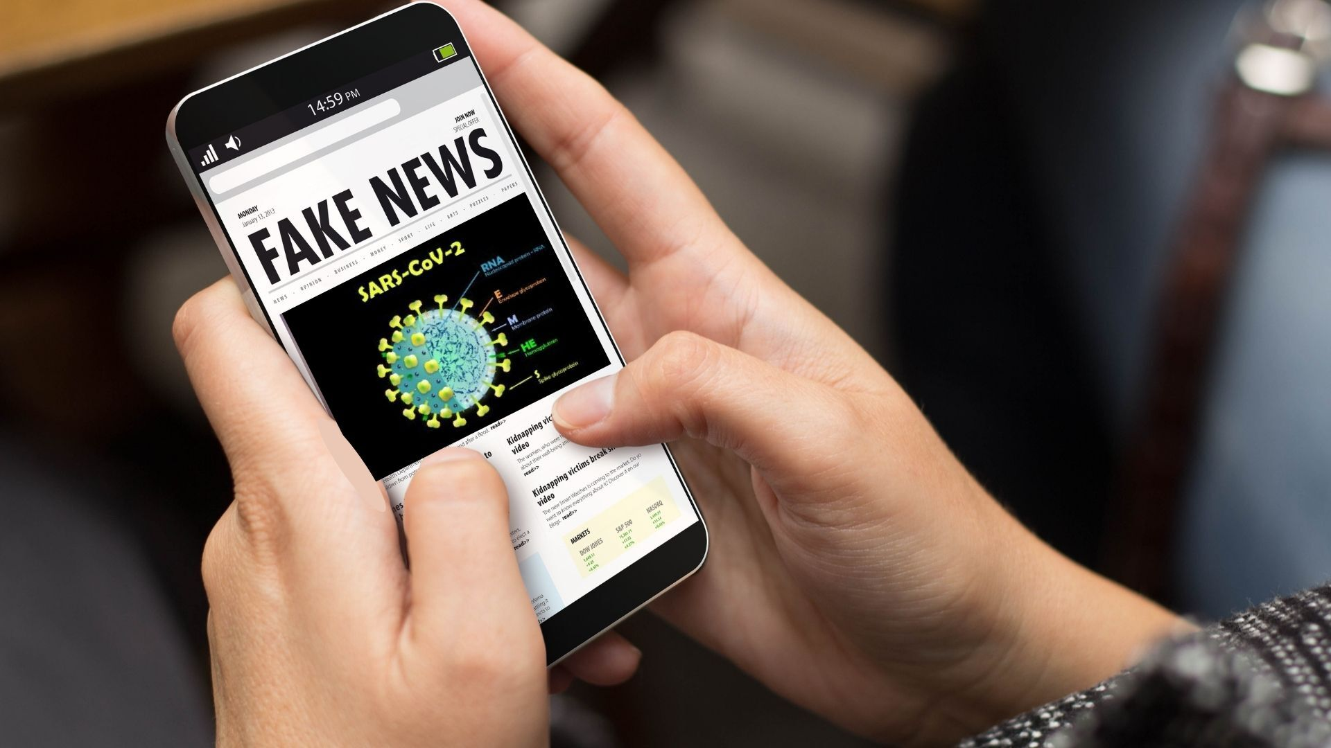 Il virus delle fake news