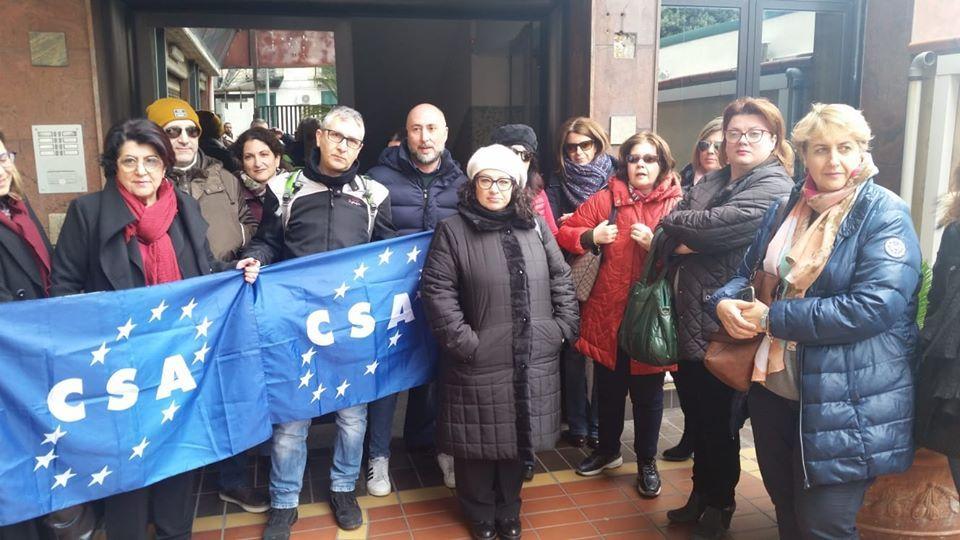Messina, stabilizzazione ASU. La CSA Sicilia a La Paglia: 'Un anno di lotte, ma alla fine avevamo ragione noi'