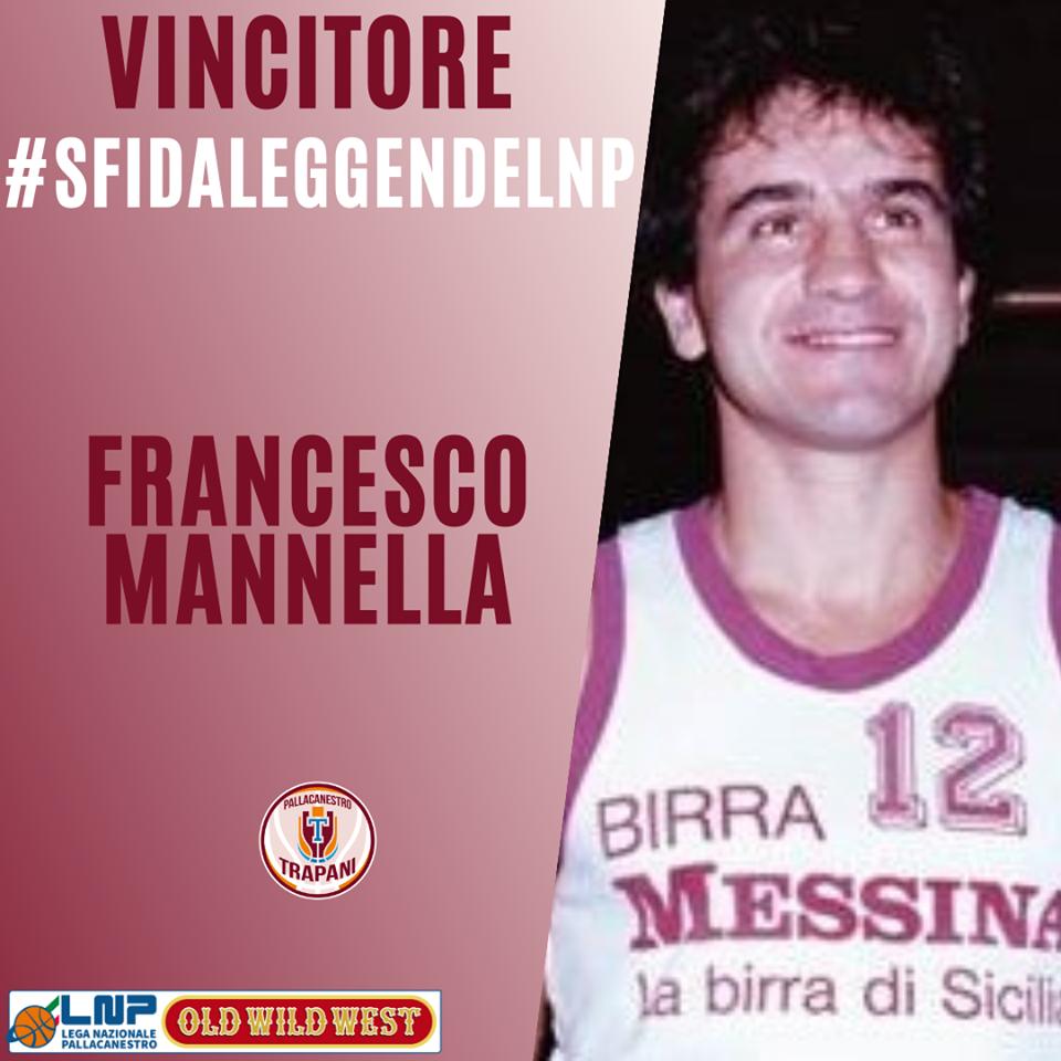 Trapani basket, Francesco Mannella vincitore del contest #SfidaLeggendeLNP