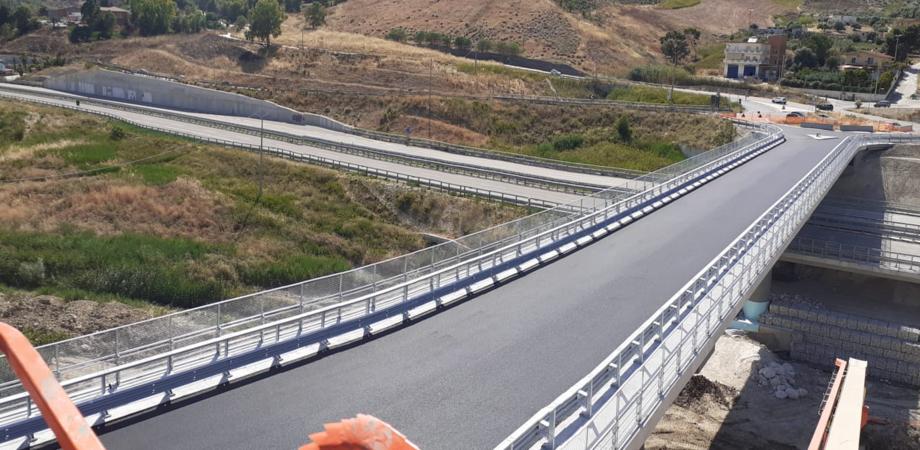 Completati i lavori del nuovo viadotto Petrusa, da lunedì 13 luglio Agrigento e Favara saranno riunite